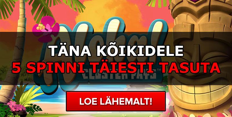 Chanz Casino Eesti - €1000 Boonus - 100 Tasuta Spinni