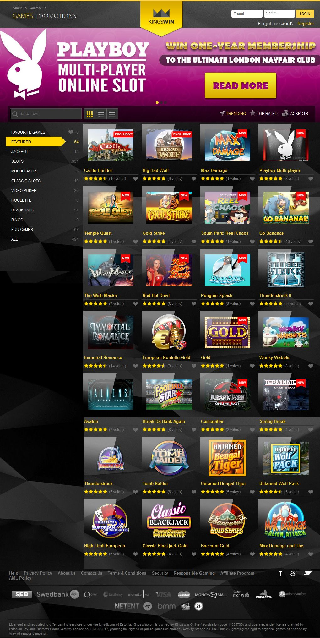 KingsWin Casino Review & Ratings - AskGamblers