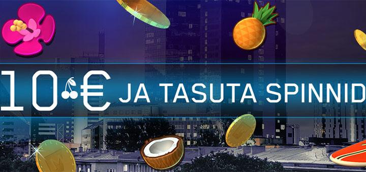 Maria Casino Reede Eri: 10 eurot ja tasuta spinnid