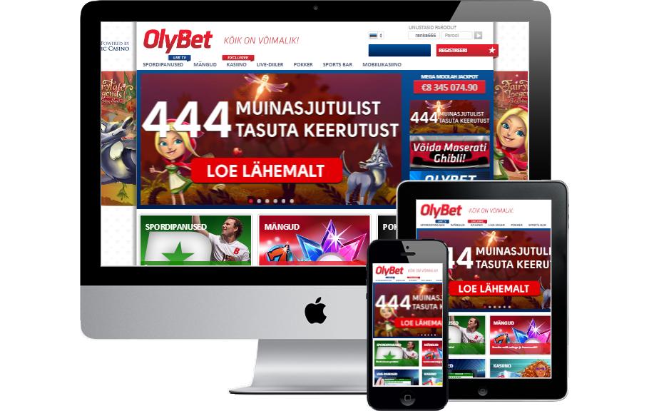 OlyBet Eesti Info - €10 TÄIESTI TASUTA - Registreeri OlyBet Eesti