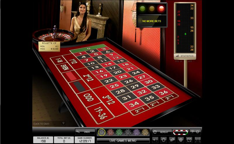 Roulette - Live Dealer Casino - TonyBet
