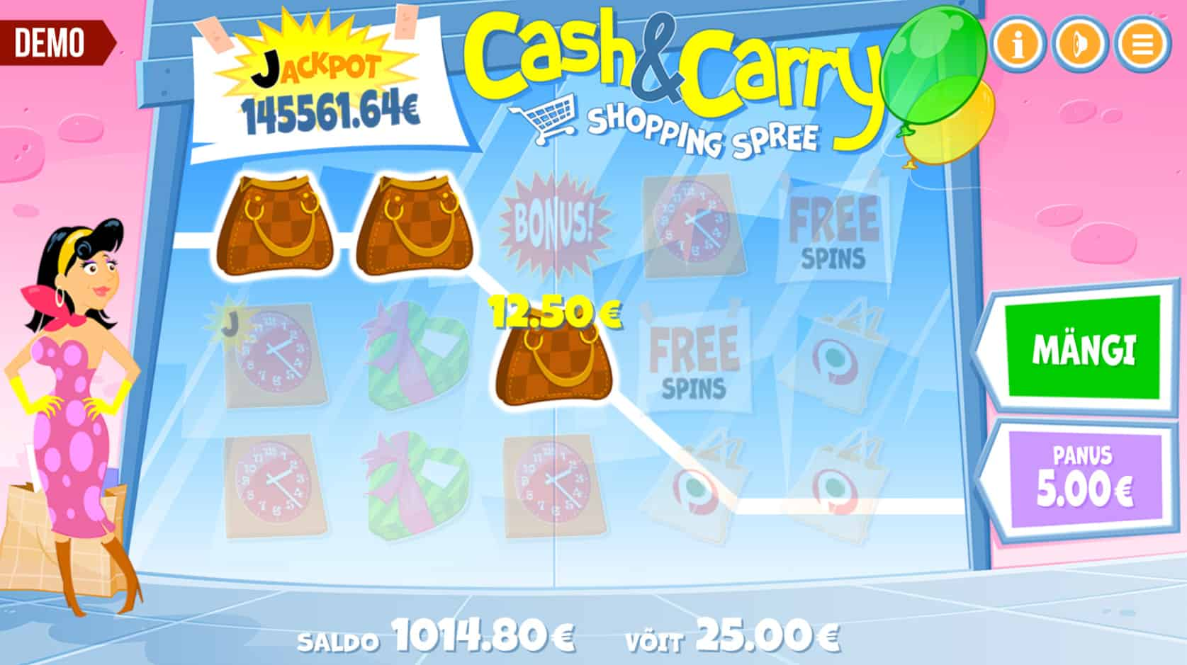 Cash & Carry Shopping Spree