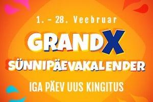 GrandX saab 8-aastaseks: võta osa metsikust sünnipäevaturniirist
