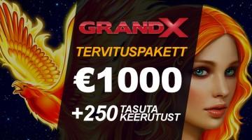 GrandX uus tervituspakett: suurem, parem ja igati vinge