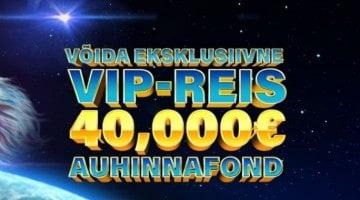 Võida Kingswinis eksklusiivne VIP-reis ja saa osa 40 000-eurosest auhinnafondist