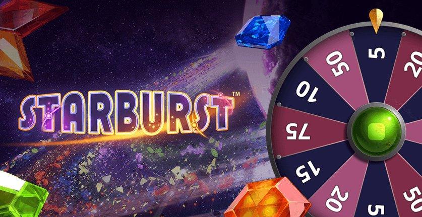 Võida iga päev kuni 50 Starbursti superspinni