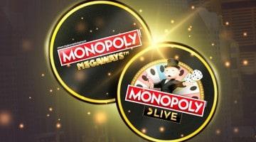 Monopoly lauamäng Optibet kasiinos