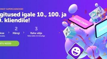 Uus Eesti online kasiino annab uutele klientidele kingituseks iPhone 12 Pro või iWatchi