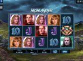 Highlander slotikas tõestab Microgamingu staatust