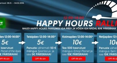 OlyBeti Happy Hour kampaania kütab kirgi