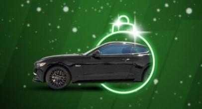 Unibet kasiino annab tasuta ära uue Ford Mustangi